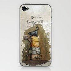 Schrödinger`s Cat iPhone & iPod Skin