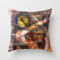 lantern Throw Pillows featuring Lantern by John Hansen
