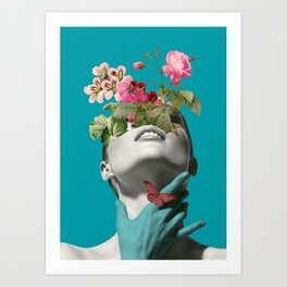 Inner beauty 3 Art Print