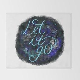 Let it go Throw Blanket