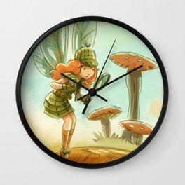 Goblins Drool, Fairies Rule! - Penny Clue Wall Clock