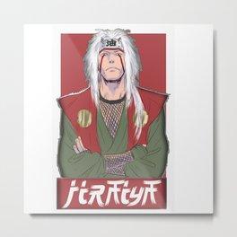 Jiraiya Metal Print