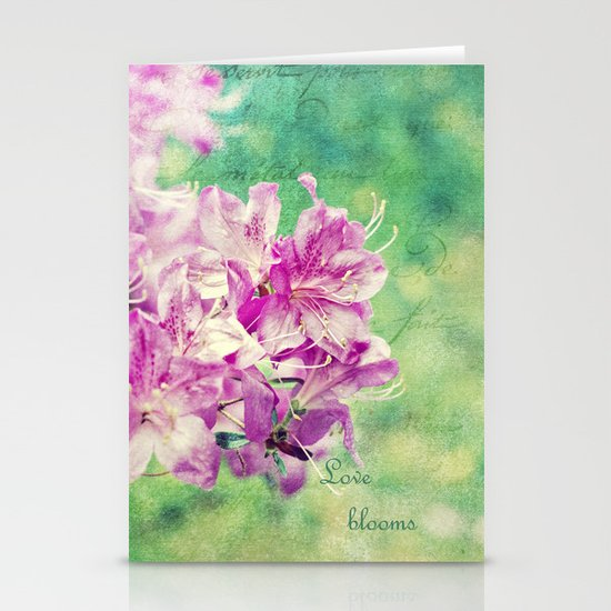 Love Blooms Stationery Cards