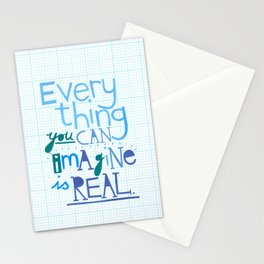 Everything you can imagine... Stationery Cards