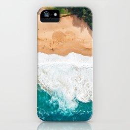 Waimea Bay Aerial iPhone Case