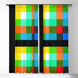 Color Bars & Squares 3 Blackout Curtain