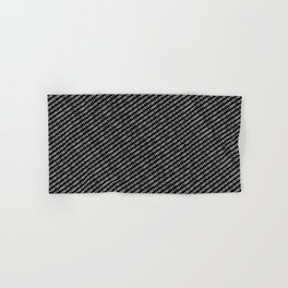 Binary Code DOS diagonal version Hand & Bath Towel