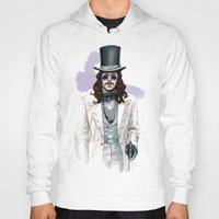 dracula Hoodies featuring Dracula by Myrtle Quillamor