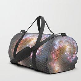 Pixel Nebula Duffle Bag