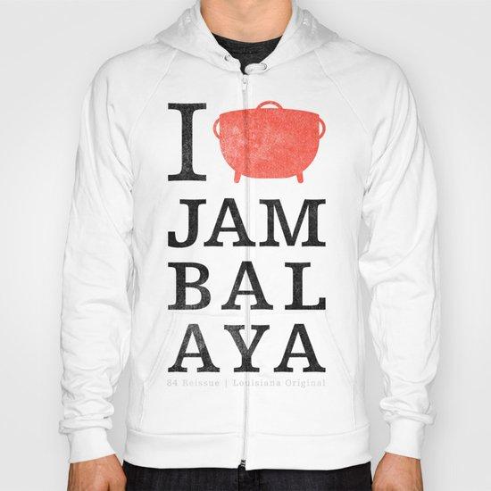 I Heart Jambalaya Hoody