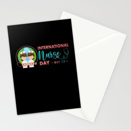Nurse quote international Nurses Day gift May 12. Stationery Cards