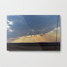 What God told himself to cry out Metal Print