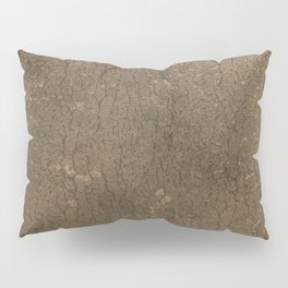 Rustic Tree Bark Pattern Pillow Sham