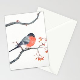 Bullfinches Stationery Cards