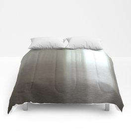 Industrial Brushed Stainless Comforters