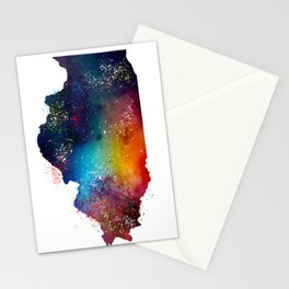 Illinois Stationery Cards