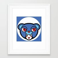 pagan Framed Art Prints featuring Pagan Blue by Pagan Holladay