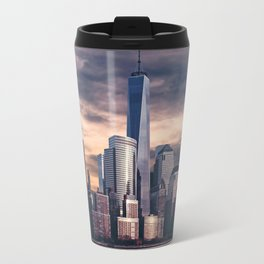 Dramatic City Skyline - NYC Travel Mug