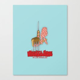 Freddy Does LA Canvas Print