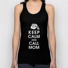 Keep Calm and Call Mom Unisex Tank Top