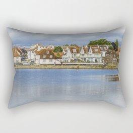 Emsworth Harbour Front Rectangular Pillow