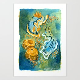 Nudibranchs Art Print