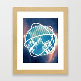 Neutron Framed Art Print