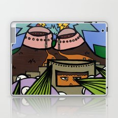 STEP BACK! THIS is OUR ELECTROMAGNETIC RECHARGING STATION! Laptop & iPad Skin