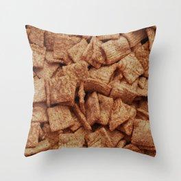 Cinnamon Sugar Cereal Throw Pillow