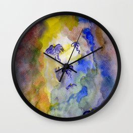 emptiness Wall Clock
