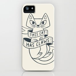 Proceed with Caution iPhone Case
