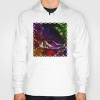interstellar Hoodies featuring Interstellar Snake by Distortion Art
