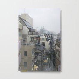Tokyo Fog Metal Print