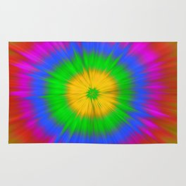 Colorful explosion Rug