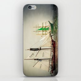 Race with me. iPhone Skin