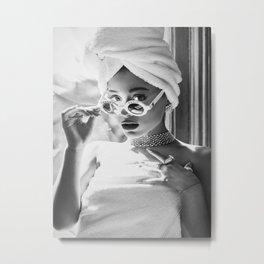 ArianaGrande music star pop music Silk poster Metal Print