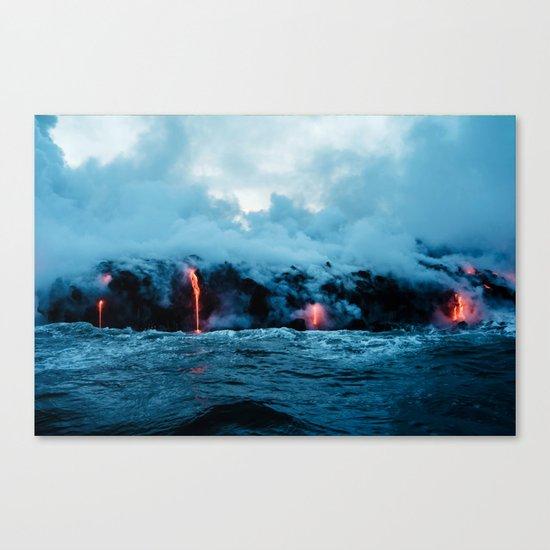 Rising New Earth Canvas Print