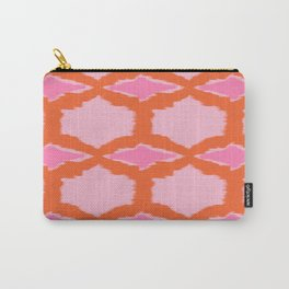 Ikat Diamond Carry-All Pouch