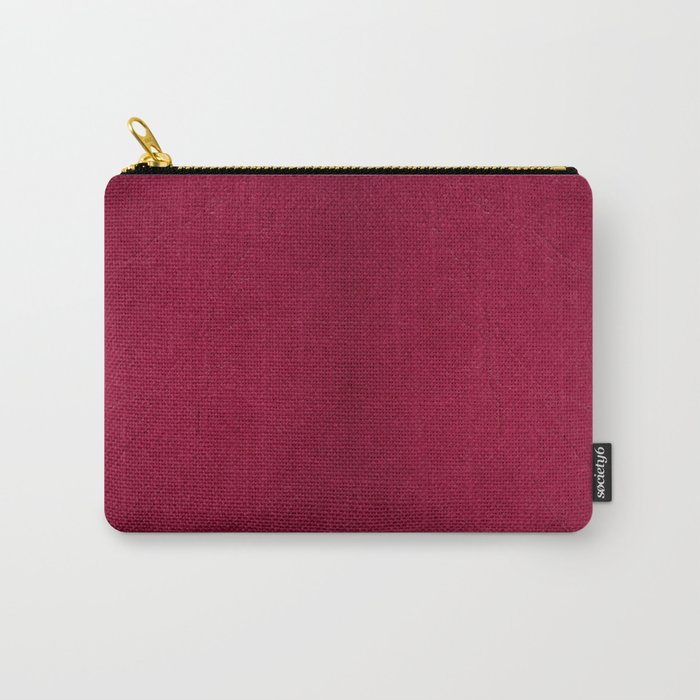 Dark red ragged cardboard texture abstract Carry-All Pouch