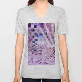 528 - Abstract Colour Design Unisex V-Neck