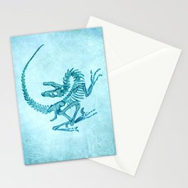Velociraptor Stationery Cards