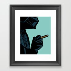 The secret life of heroes - DarkBreath Framed Art Print