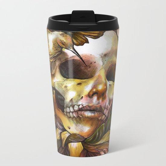 Queen of Enlightenment  Metal Travel Mug