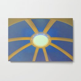 Decorated Concrete 004 Metal Print