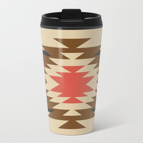 Aztec 1 Metal Travel Mug