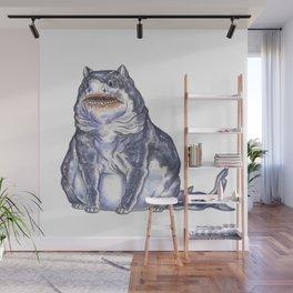 Great White Shark Cat :: Series 1 Wall Mural