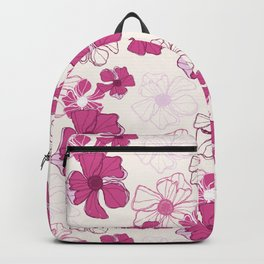 Pink Poppy Bash Backpack