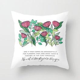 Certainly Throw Pillow