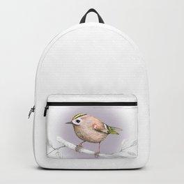 Goldcrest drawing Backpack