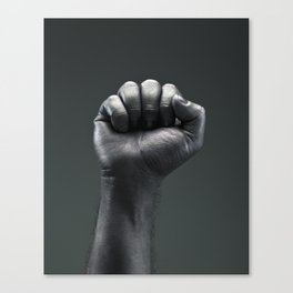 Protest Hand Canvas Print